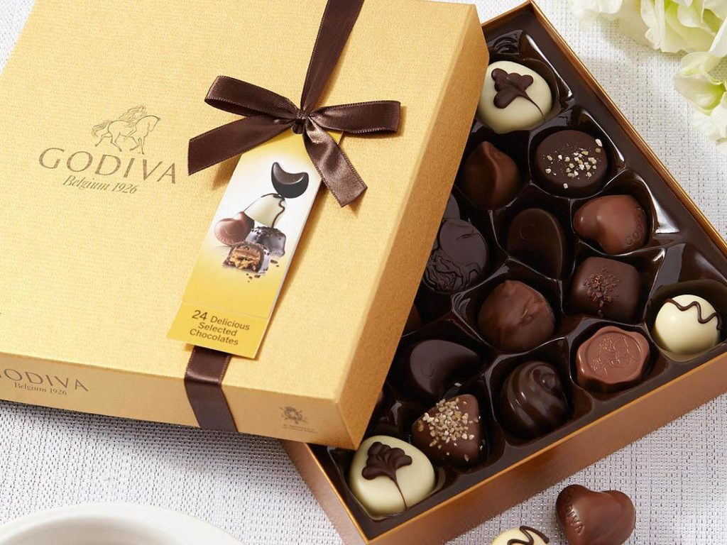Image of Expensive Chocolates from Godiva, Mistress Orchid's favourites