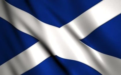 Image of Saltire, which incorporates a St Andrew's Cross